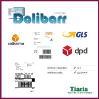 Shippinglabels for Dolibarr